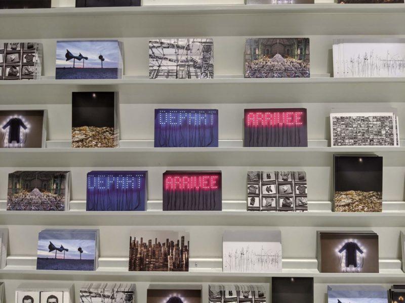 ポンピドゥーセンター(国立近代美術館)のミュージアムショップ