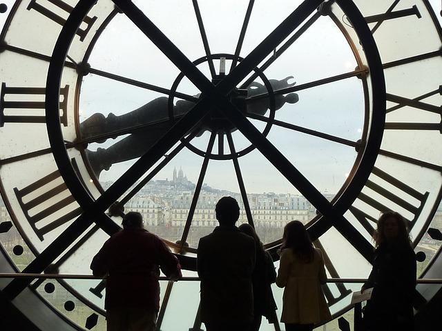 オルセー美術館の大時計