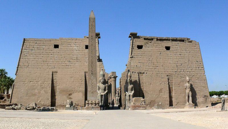 エジプト ルクソール宮殿