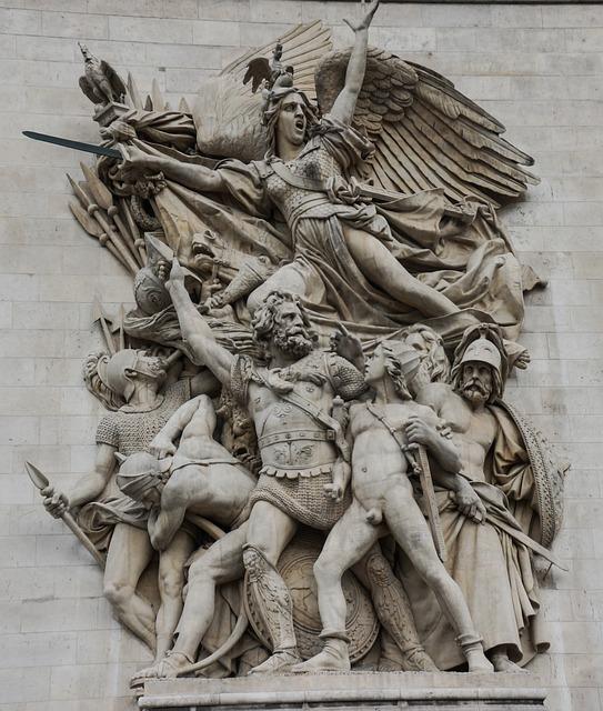 エトワール凱旋門(Arc de triomphe de l' Étoile)