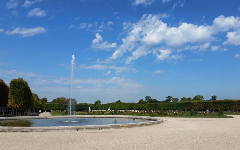 サンジェルマンアンレー城の庭園