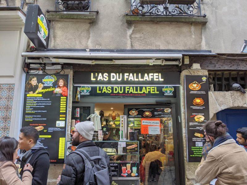 ファラフェルの大人気店ラス・ドゥ・ファラフェル
