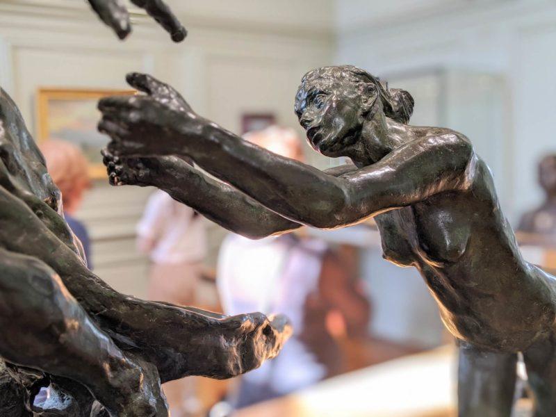 ロダン美術館 カミーユ《分別盛り》