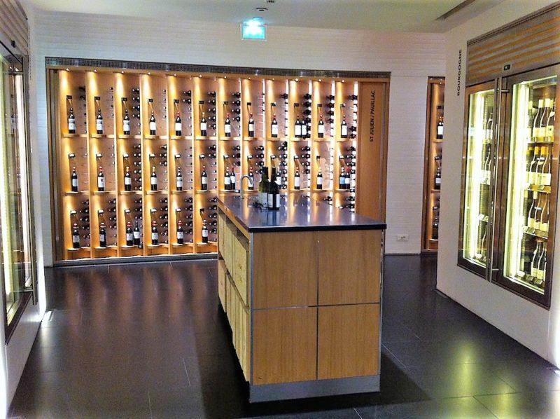 ラ・グランド・エピスリー・ド・パリのワインセラー