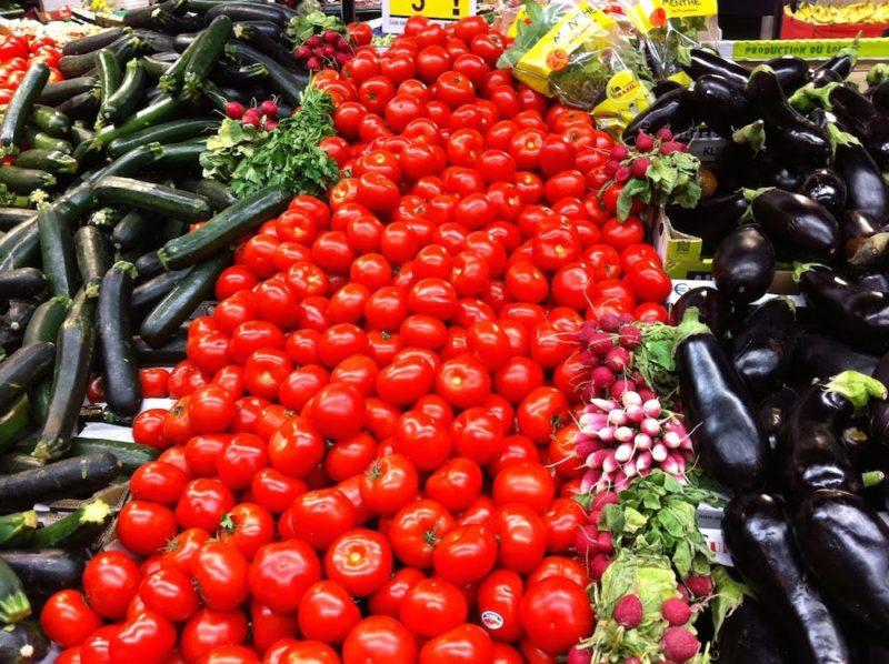 パリのスーパーマーケット 野菜