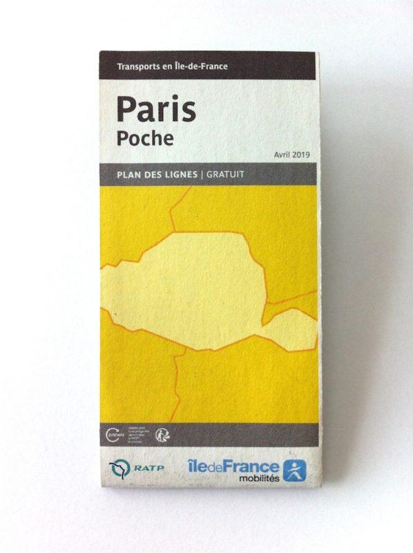 パリの路線図