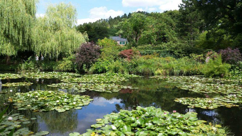 ジヴェルニーモネの庭