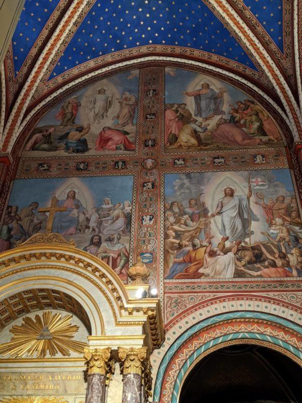 サン・ジェルマン・デ・プレ教会イポリット・フランドランのフレスコ画