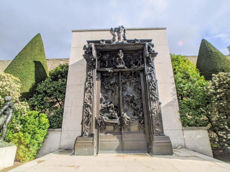 ロダン美術館 地獄の門(La Porte de l'enfer)