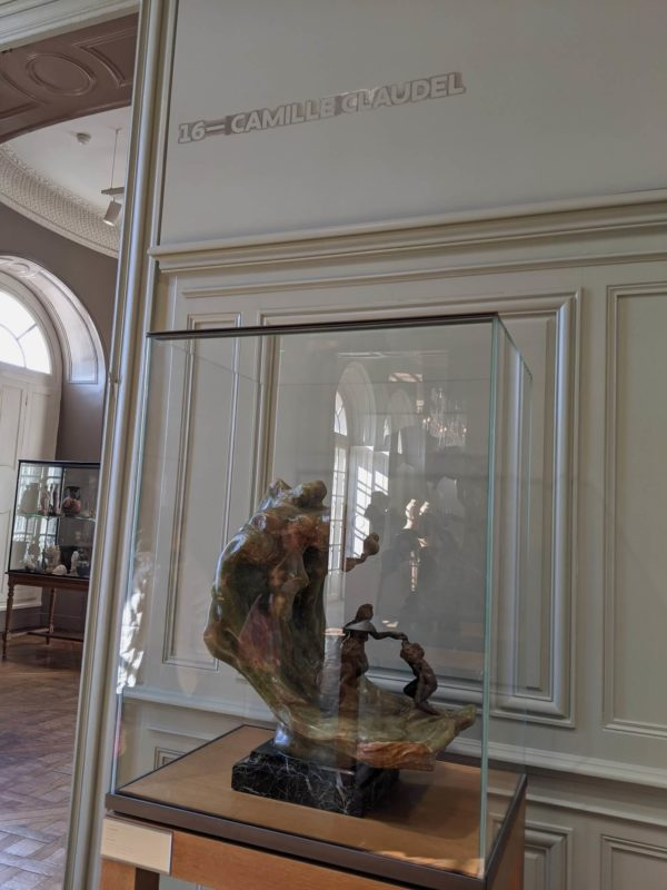カミーユ・クローデルの作品を集めた第16室