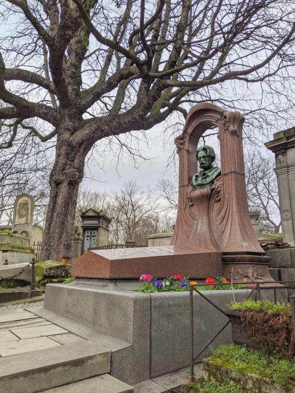 モンマルトル墓地 エミール・ゾラの墓