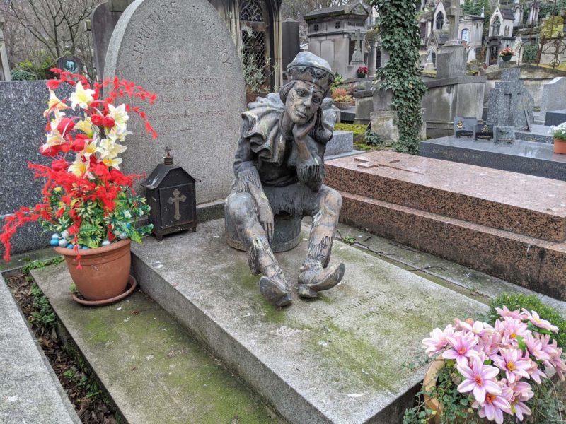 モンマルトル墓地 ヴァーツラフ・ニジンスキーの墓