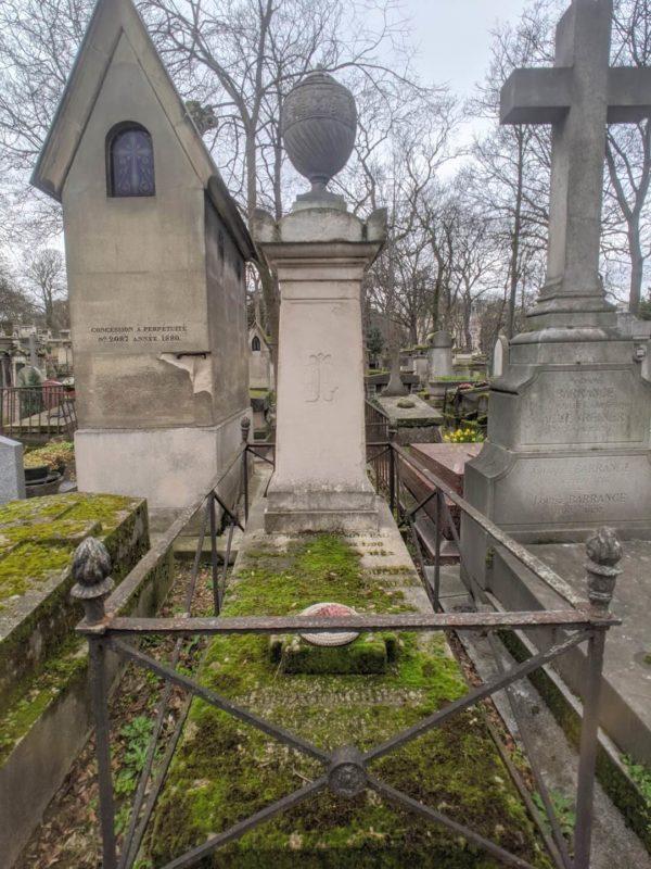 モンマルトル墓地 ギュスターヴ・モローの墓
