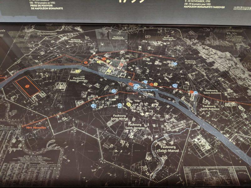 コンシェルジュリーフランス革命の展示