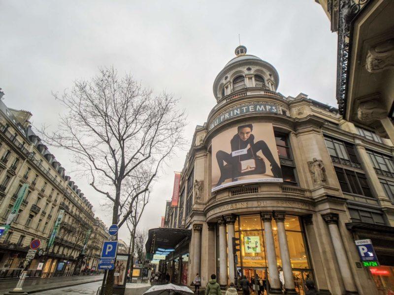 パリのプランタン