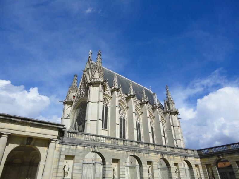 ヴァンセンヌ城の礼拝堂