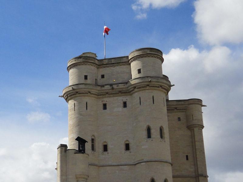 ヴァンセンヌ城のドンジョン(天守閣)