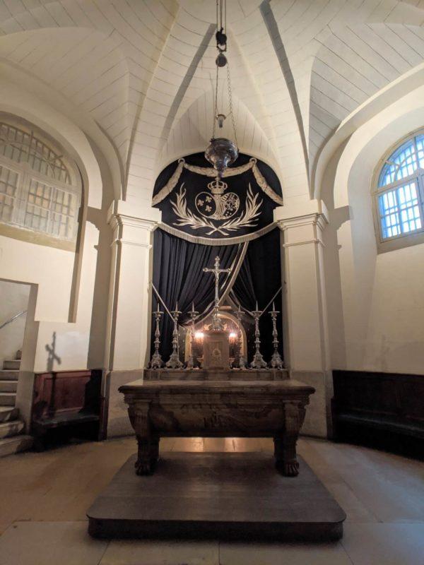 コンシェルジュリー囚人のための礼拝堂