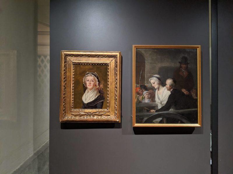 コンシェルジュリーマリーアントワネットの肖像画