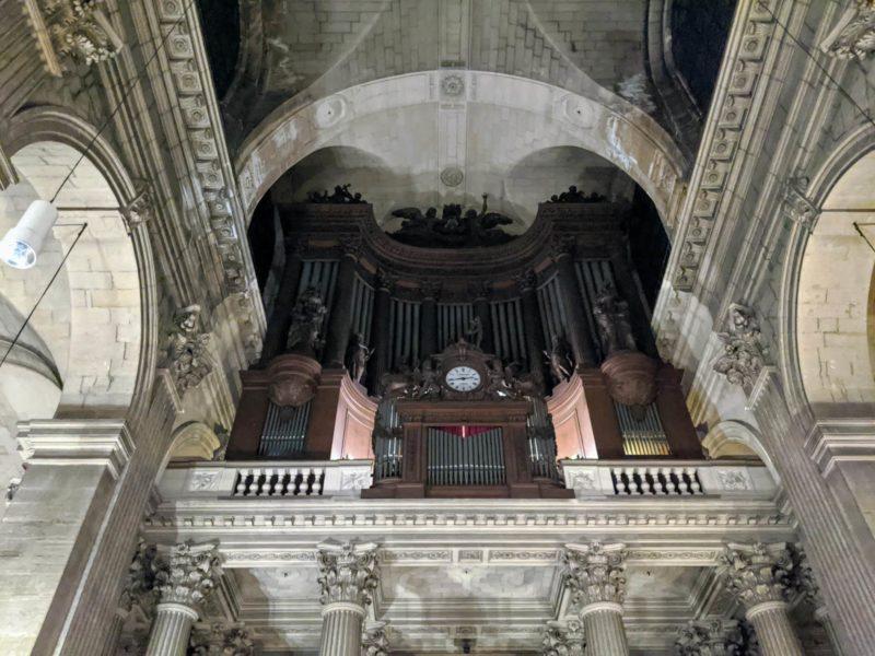 サンシュルピス教会 世界最大級のパイプオルガン
