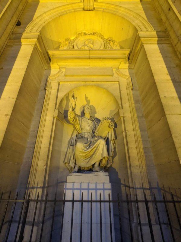 M. トマ作 聖ペテロ像