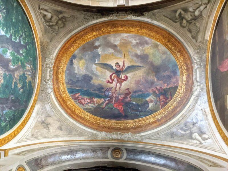 ドラクロワ 悪魔を撃つ大天使ミカエル