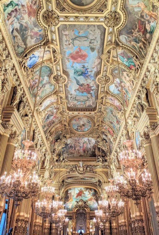 パリのオペラ座ガルニエのグラン・ホワイエ