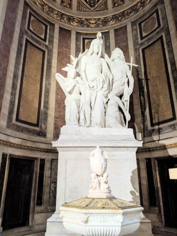 マドレーヌ寺院 リュード作「キリストの洗礼」