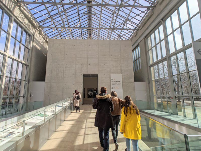 オランジュリー美術館 内部
