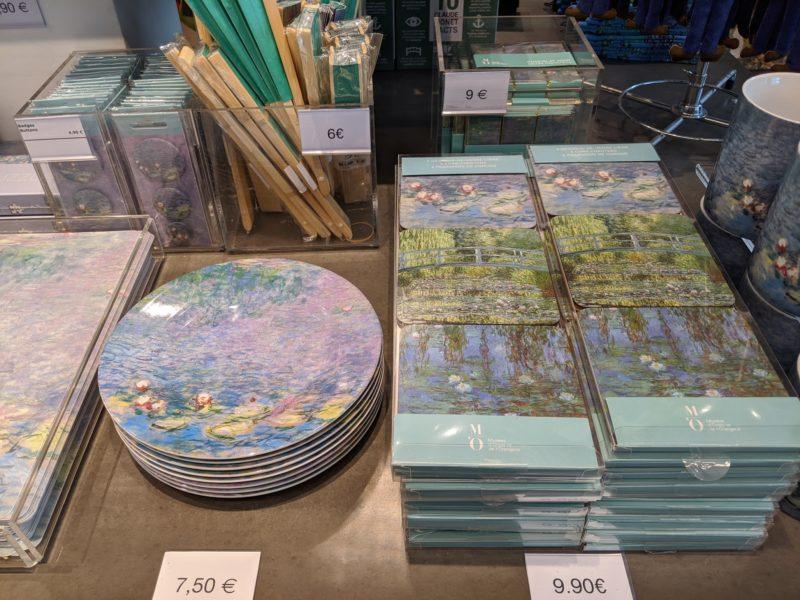 オランジュリー美術館 モネのお皿・コースター
