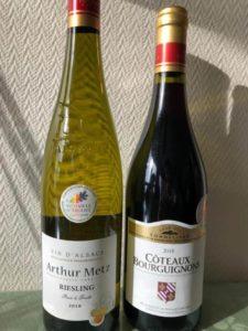 メダル付きのフランスワイン
