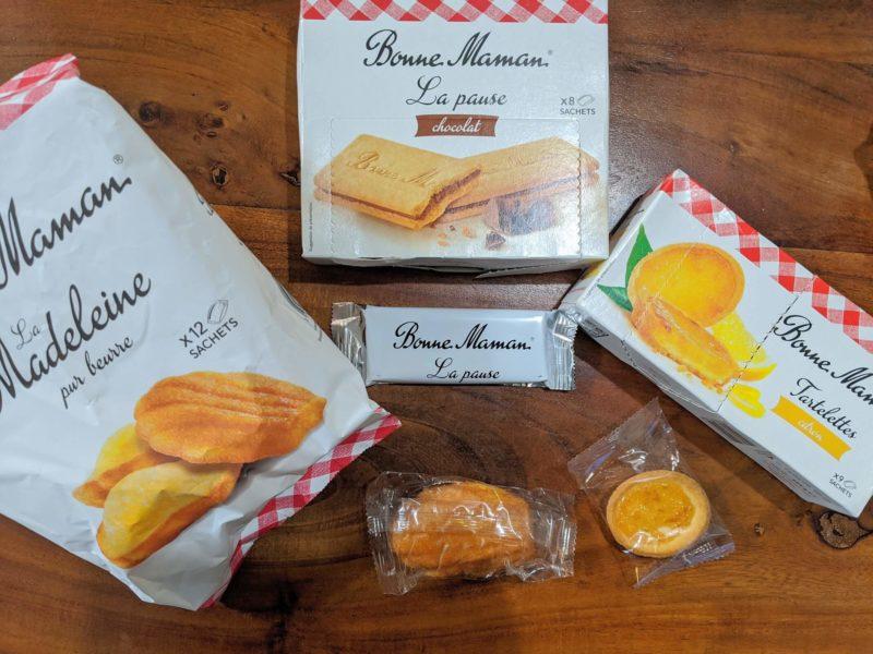 ボンヌママン(Bonne Maman)のお菓子