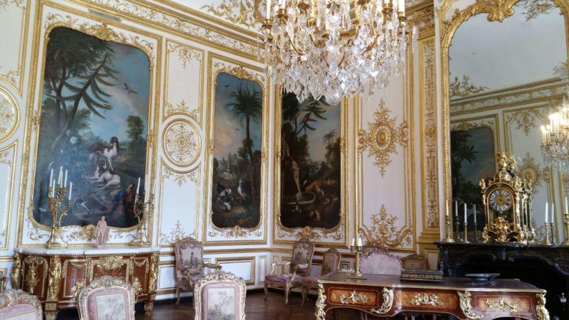 シャンティイ城 王子の寝室 Chambre de Monsieur le Prince