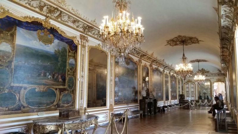 シャンティイ城 戦闘の間 Galerie des Batailles