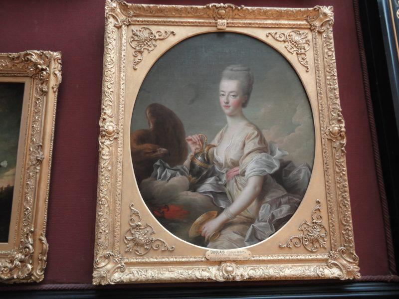 ドゥルーエ《Marie-Antoinette, dauphine en Hébé》