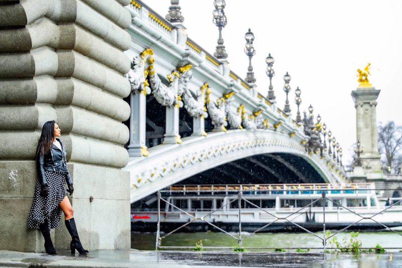 アレクサンドル3世橋のフォトスポット photo by manami