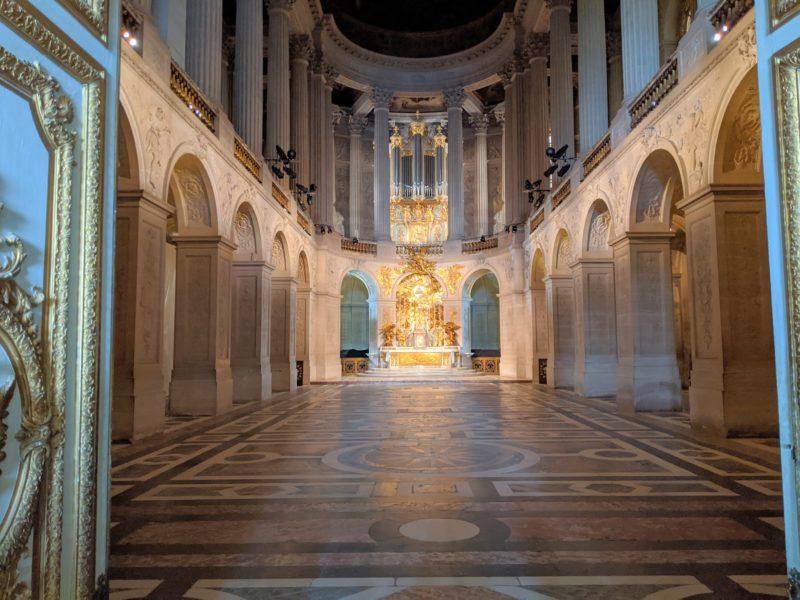 ヴェルサイユ宮殿 礼拝堂