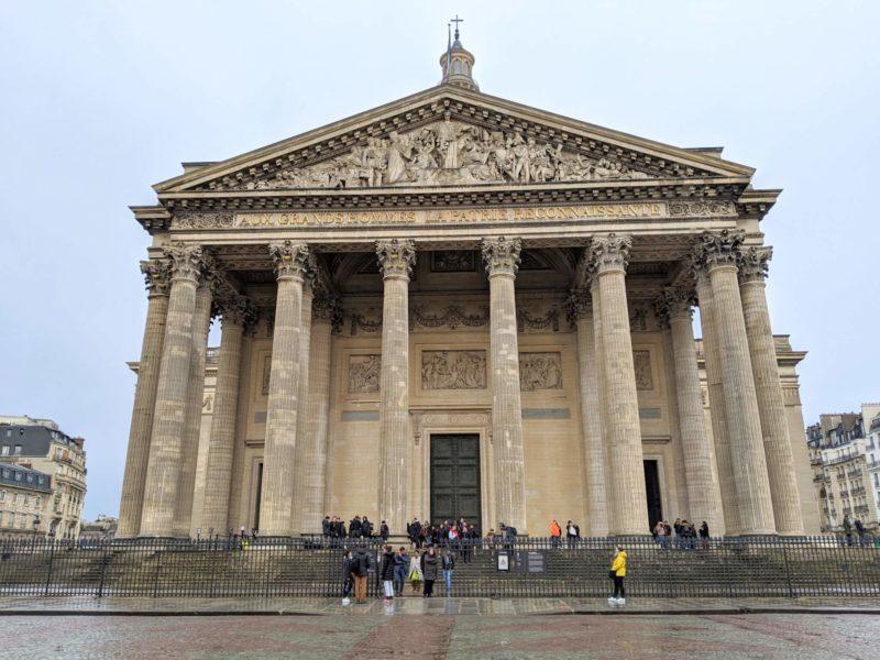 パリのパンテオン外観