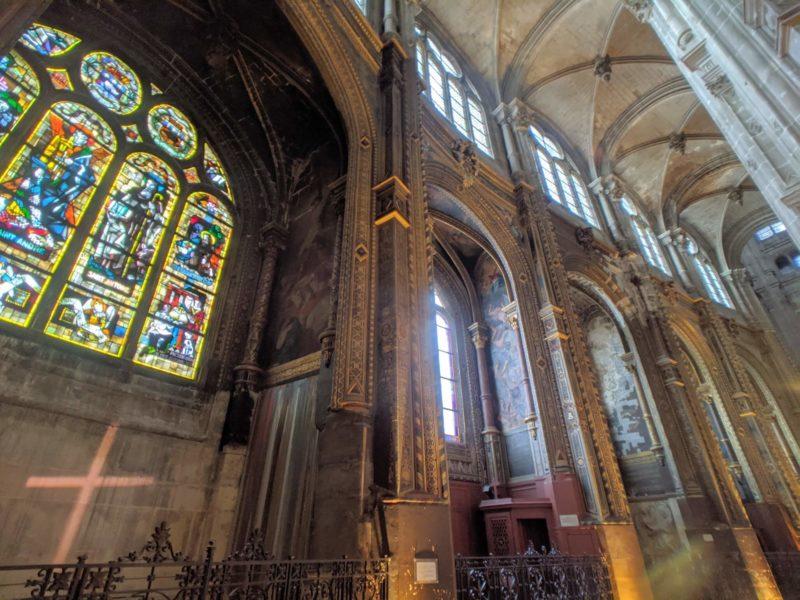 サントゥスタッシュ教会 内観