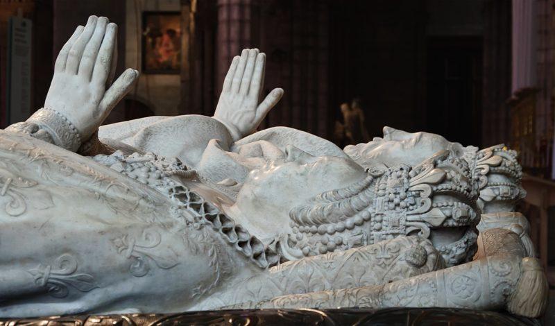 アンリ2世とカトリーヌ・ド・メディシスの墓