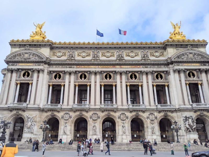 パリのオペラ座ガルニエ