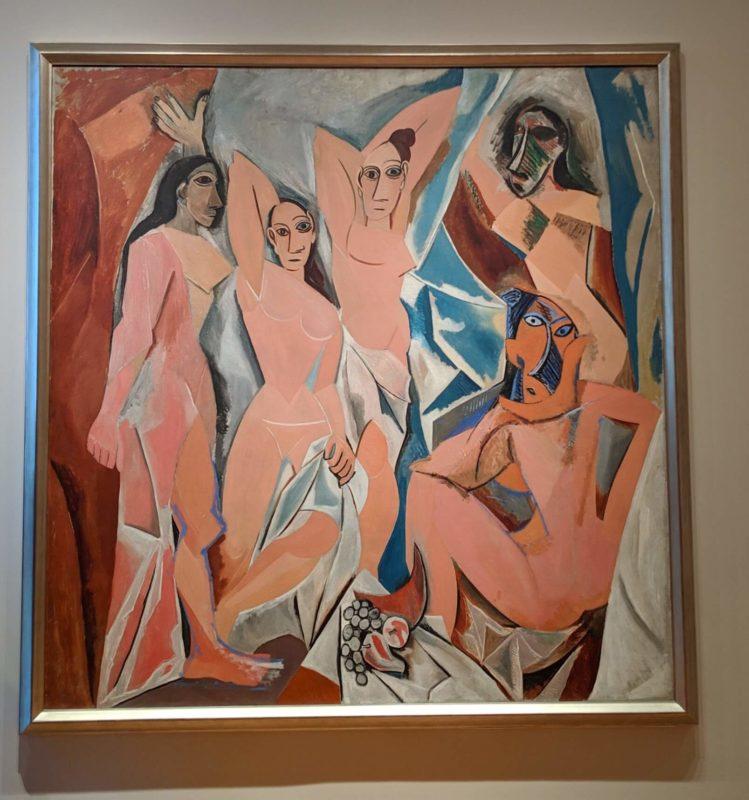 ニュースヨークMOMA美術館 アヴィニョンの娘たち