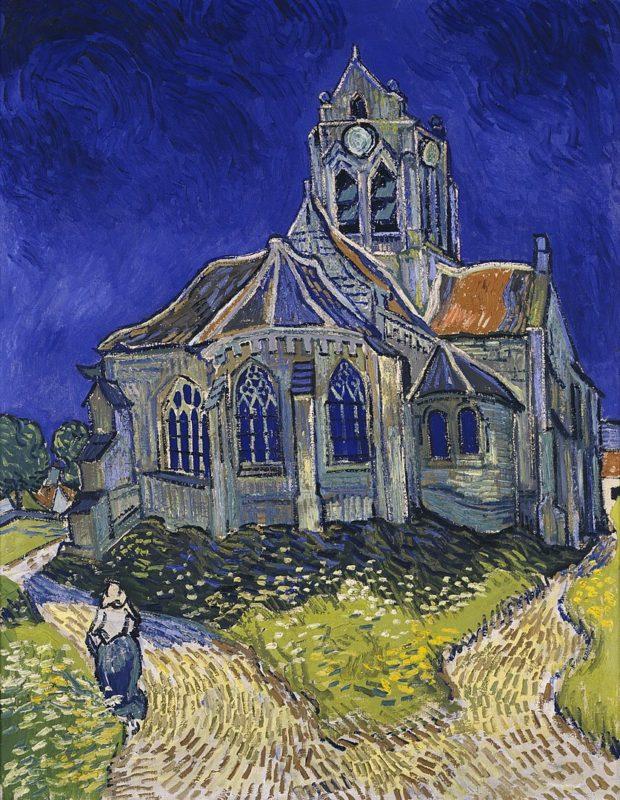 オルセー美術館 ゴッホのオヴェールの教会