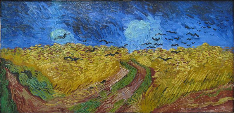 オヴェール・シュル・オワーズの麦畑
