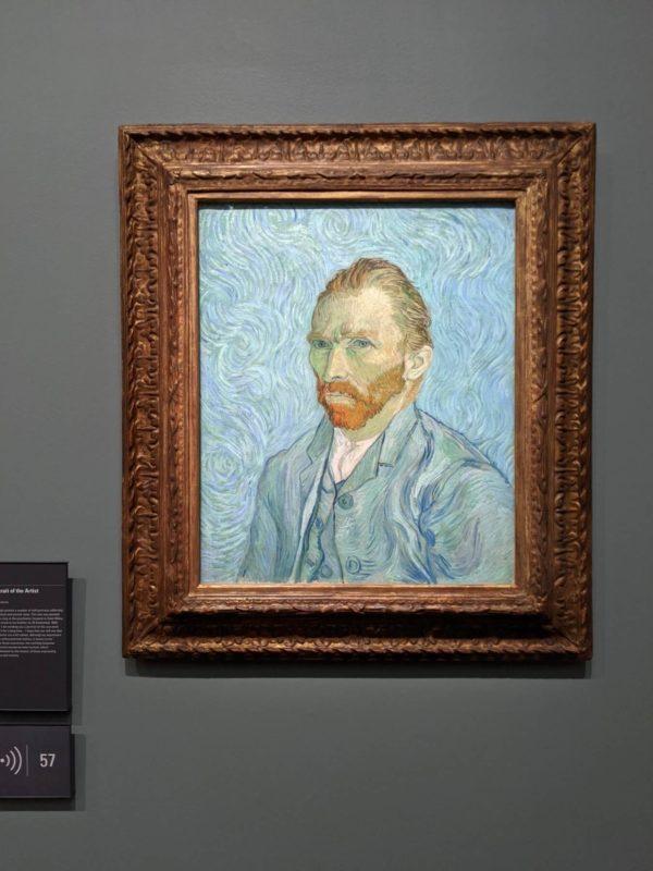 オルセー美術館 ゴッホ自画像