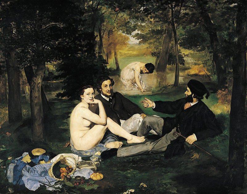 エドゥアール・マネ《草上の昼食 Le Déjeuner sur l'herbe》オルセー美術館