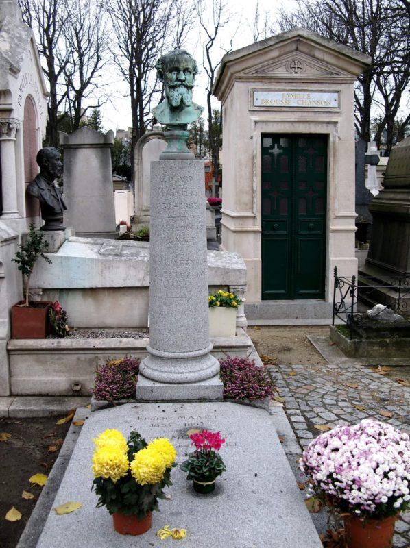 マネの墓 パッシー墓地