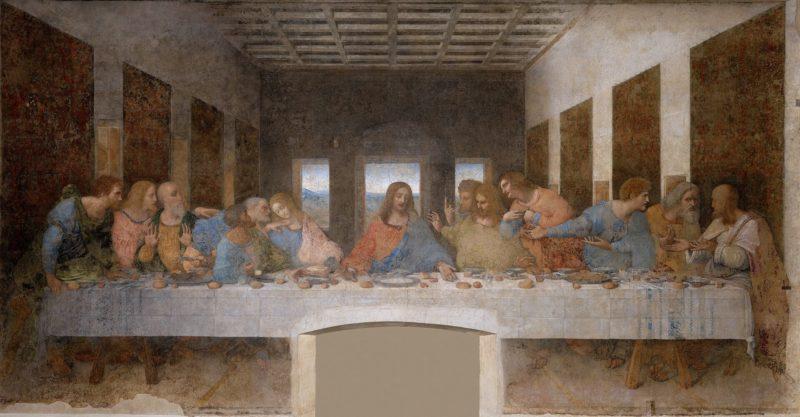 レオナルド・ダ・ヴィンチ《最後の晩餐》サンタ・マリア・デッレ・グラツィエ修道院