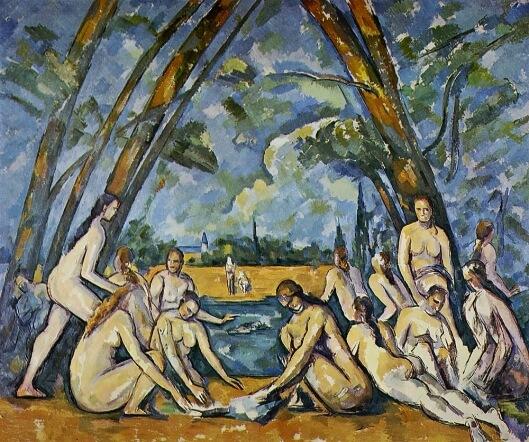 セザンヌ《大水浴図 Les Grandes Baigneuses》フィラデルフィア美術館