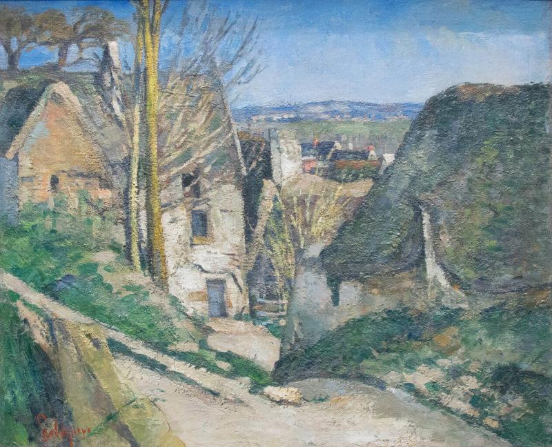 セザンヌ《オーヴェルの首吊りの家 La Maison du pendu, à Auvers》オルセー美術館